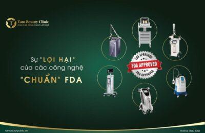 Sự lợi hại của các công nghệ làm đẹp chuẩn FDA